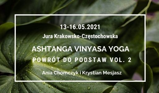 Ashtanga vinyasa yoga powrót do podstaw vol.2